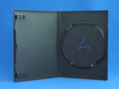 画像1: 【送料無料】【高剛性タイプ】 DVDトールケース 1枚用 1,000個セット