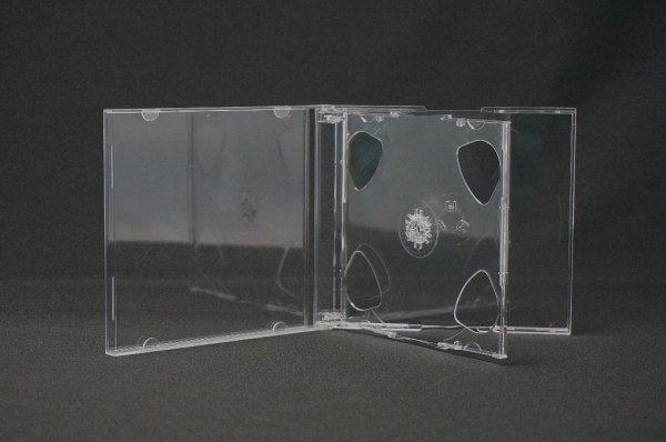 画像1: 10mm厚 CDジュエルケース3枚用200個セット (1)