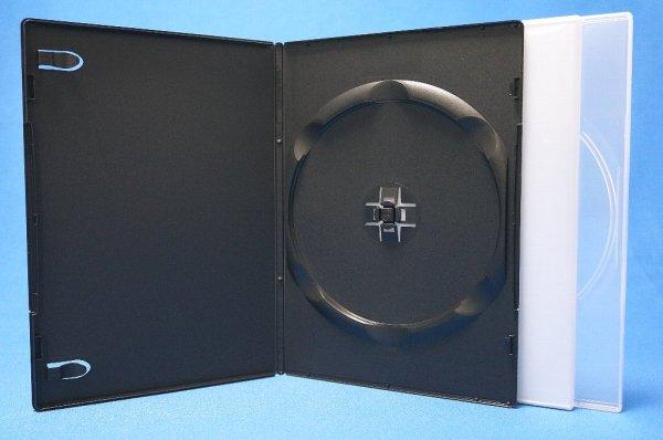 画像1: 【高品質タイプ】7mmスリムDVDトールケース 1枚収納 50個セット (1)