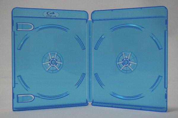 画像1: BDケース(ブルーレイケース) 2枚用 100個セット (1)