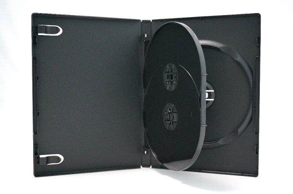 画像1: 【高品質タイプ】DVDトールケース3枚用 25個セット (1)