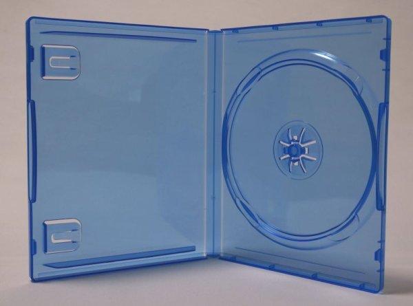 画像1: PS4用トールケース(ダミーケース) クリアブルー ばら売り (1)