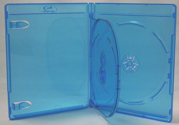 画像1: 15mm厚 BDケース(ブルーレイケース) 3枚用 100個セット (1)