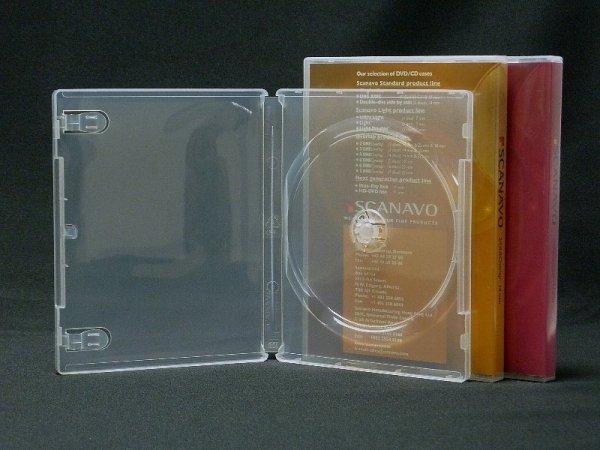 画像1: 【Scanavo】クライテリオンケース(BDケース) 透明 25個セット (1)