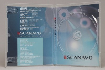 画像1: 【Scanavo】クライテリオンケース(BDケース) 透明 25個セット
