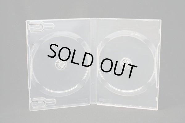 画像1: 【処分特価】【Scanavo製】 DVDトールケース 2枚用 透明 100個セット @17円 (1)
