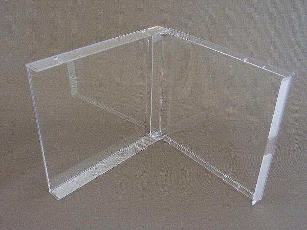 画像1: 【海外製】【デュオ】DUOケース(17mm厚ジュエルケース)  本体のみ 100個セット (1)