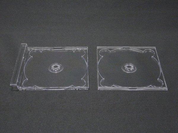 画像1: 【日本製】【デュオ】DUOケース(17mm厚ジュエルケース)  トレイのみ (1)