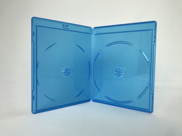 画像1: 【6mm厚】【超スリム】BDケース(ブルーレイケース) 2枚用 ばら売り (1)