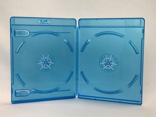 画像1: 【11mm厚】 スリムBDケース(ブルーレイケース) 2枚用 100個セット (1)