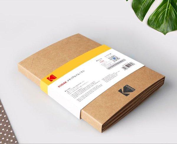 画像1: 【KODAK】アコーディオン式フォトフレーム 紙素材 KGサイズ メモリーアルバムmini (1)