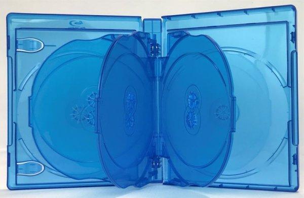 画像1: 【BDケース】ブルーレイケース8枚用 34個セット (1)