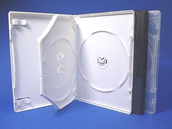 画像1: MロックDVDトールケース3枚用ケース100個セット (1)