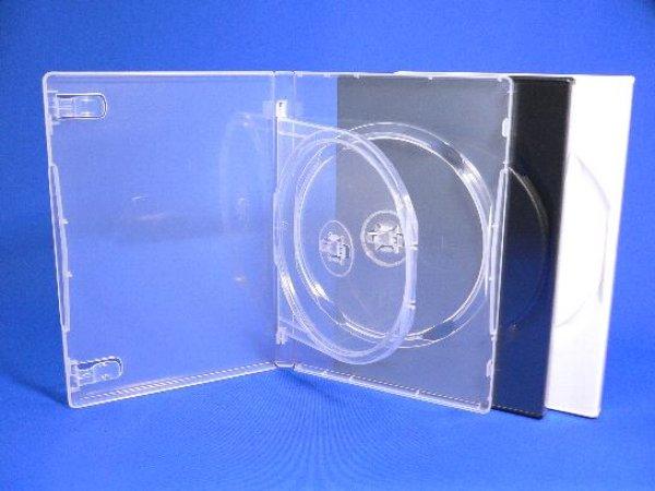 画像1: 【トレータイプ】MロックDVDトールケース2枚用 バラ売り (1)