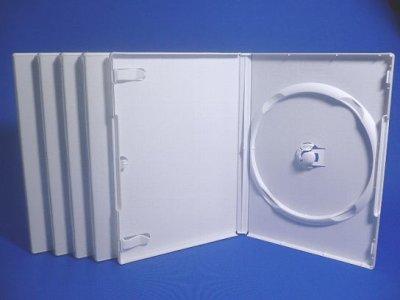 画像1: 【アウトレット】DVDトールケース1枚用 透明 ばら売り