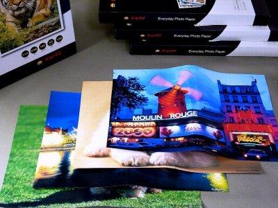 画像1: 【在庫限り】【処分特価】ジャケット専用紙(光沢紙) 厚手 A4サイズ 50枚