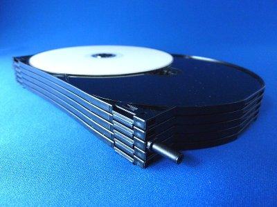 画像3: 【高品質/薄型】DVDトールケース 12枚用 26個セット